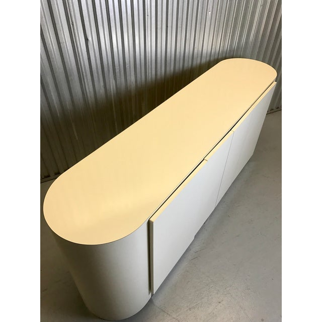 Karl Springer White Credenza For Sale - Image 5 of 11