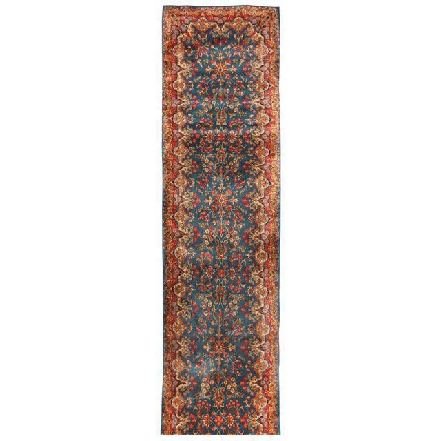Antique Persian Kerman Runner - Image 2 of 2