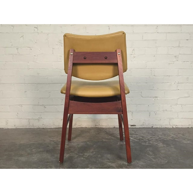 Jens Risom Style Mid-Century Modern Desk Chair - Image 5 of 8