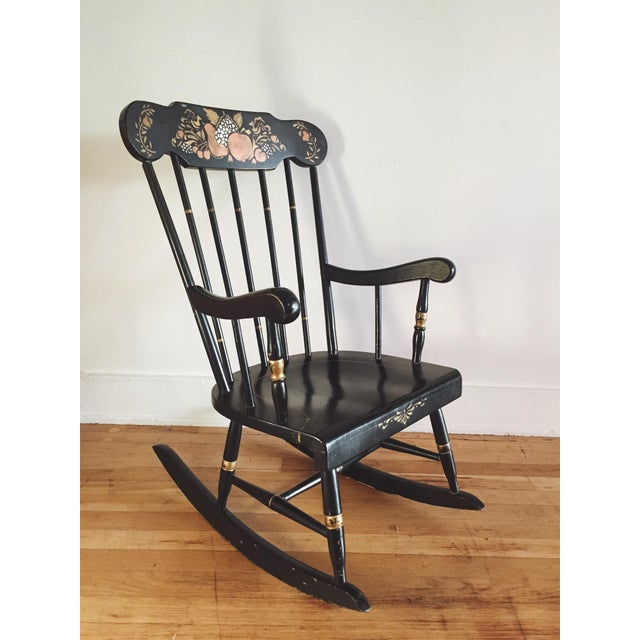Strange Thayer Antique Childs Rocking Chair Beatyapartments Chair Design Images Beatyapartmentscom