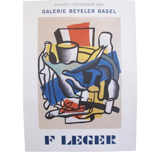 1969 Original Fernand Leger Exhibition Poster
