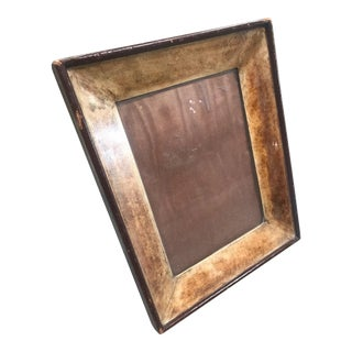 1950s Vintage Italian Parchment Picture Frame For Sale