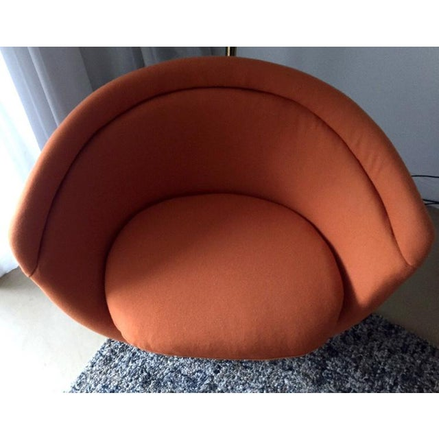 Knoll 1960s Vintage Warren Platner Bronze Lounge Chair For Sale - Image 4 of 10