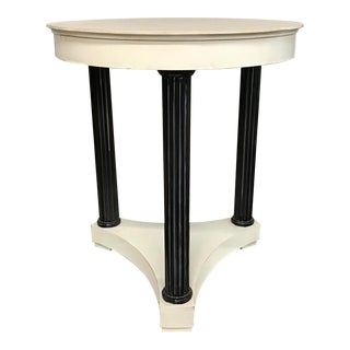 Century Furniture Round Side Table For Sale