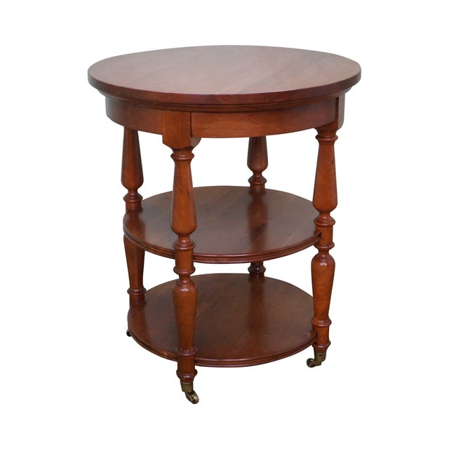 Harden Round 3-Tier Side Table For Sale
