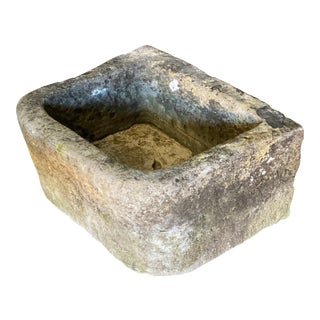 Antique French Stone Sink For Sale