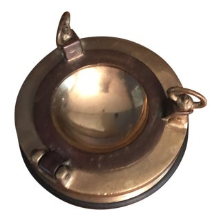 Nautical Brass Porthole Ashtray For Sale