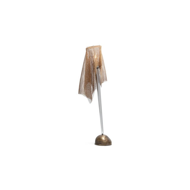 """Artemide Chain Mail Table Lamp """"Anchise"""" by Toni Cordero For Sale - Image 10 of 10"""