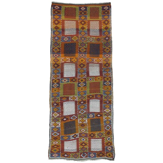 "Southeast Anatolian ""Jijim,"" Long Rug For Sale"