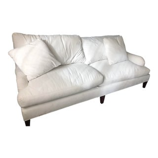 Essex Ruffin Sofa by Crate and Barrel For Sale