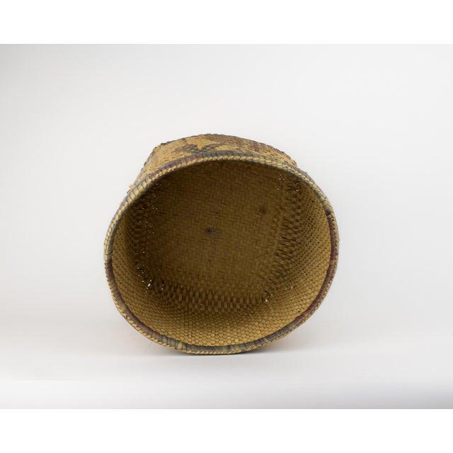 Red Vintage Tribal Basket For Sale - Image 8 of 12