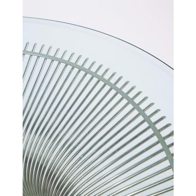 Transparent 1960s Mid-Century Modern Warren Platner for Knoll Coffee Table For Sale - Image 8 of 9