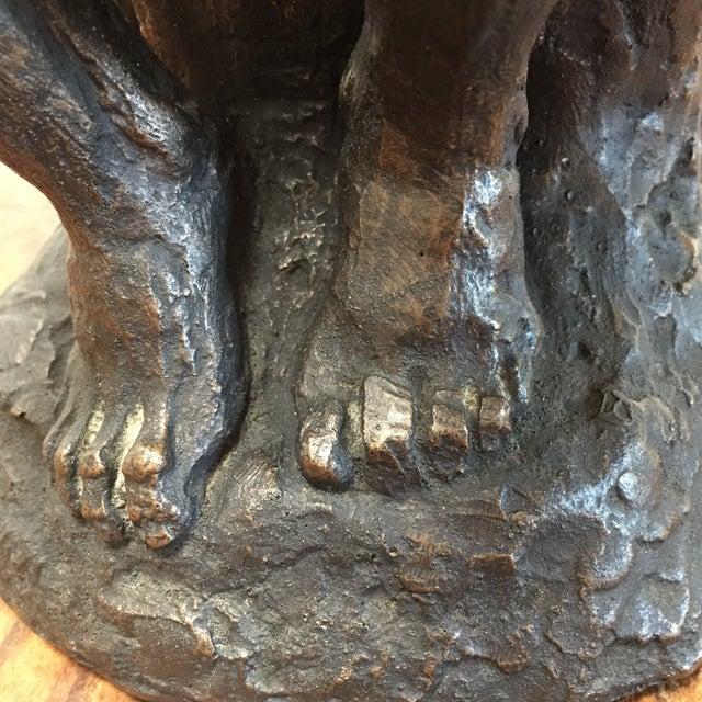 Austin Prod. 1964 Rodin Thinker Statue - Image 10 of 11