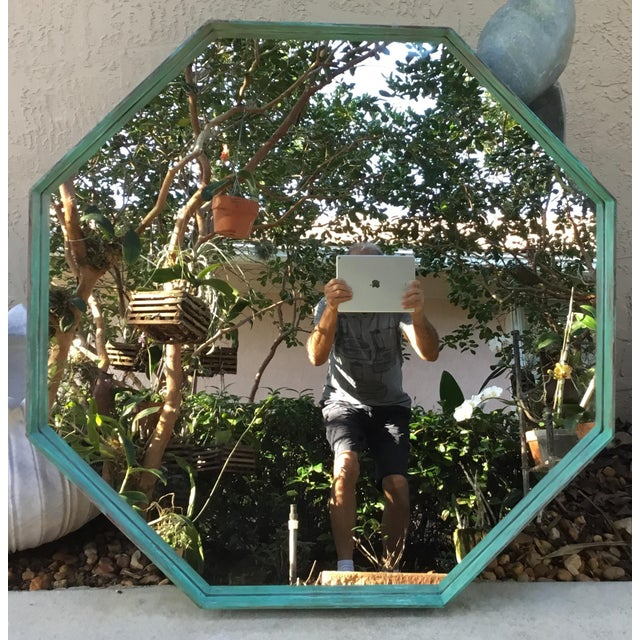 Architectural Bronze Hexagon Mirror - Image 2 of 10