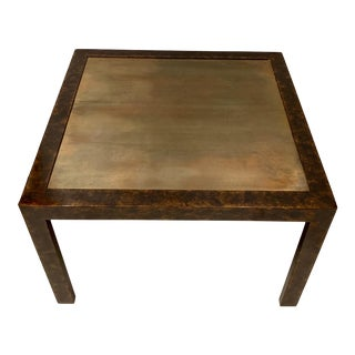 John Widdicomb Modern Parsons Style Table For Sale