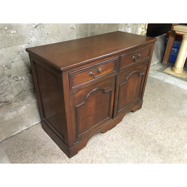 English Mid 19th Century Antique English Petite Sideboard For Sale - Image 3 of 12