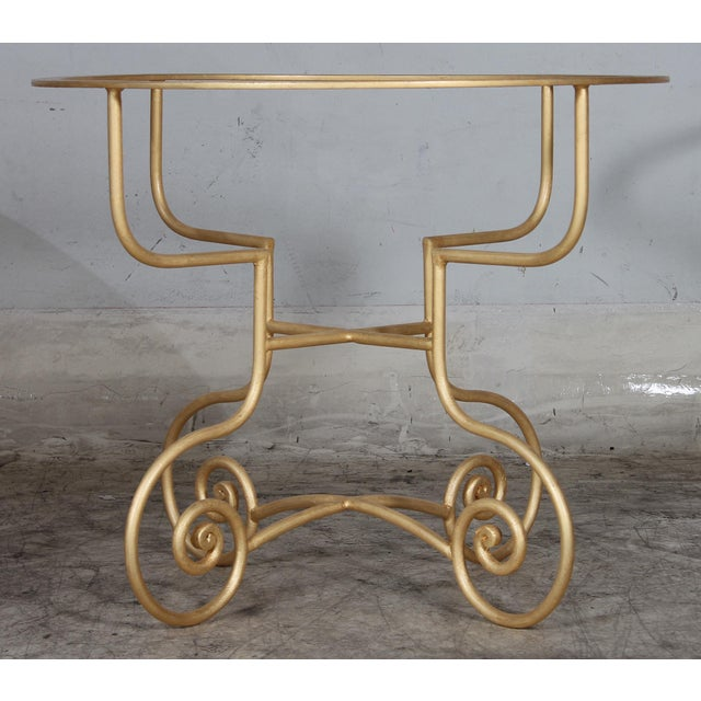 Metal Dining Table Base - Image 4 of 5