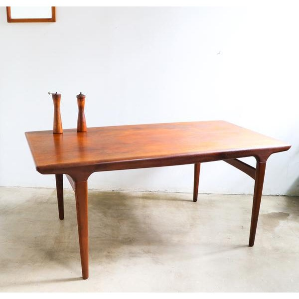 Mid-Century Modern Niels Moller Table for Jl Moller For Sale - Image 3 of 3
