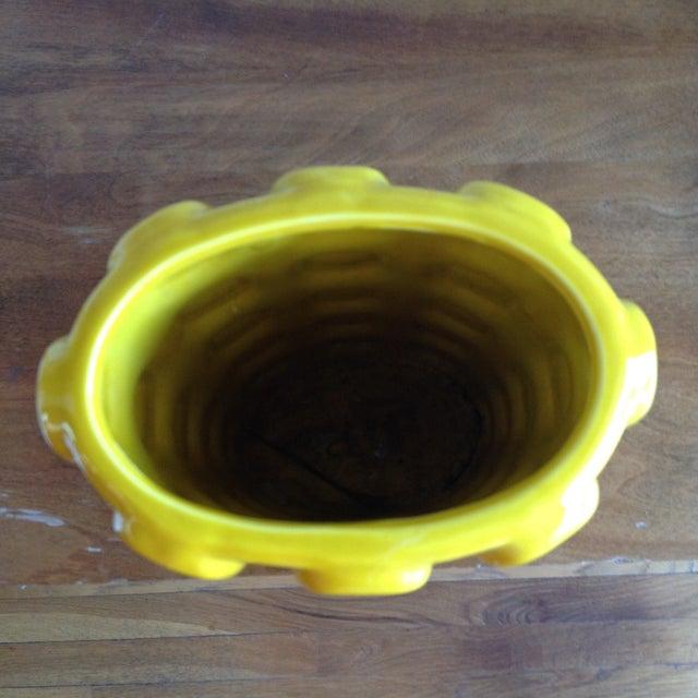 Modern Yellow Ceramic Vase - Image 9 of 10