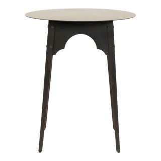 Olsen Metal Table in Black For Sale