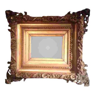 19th C. American Gilted Frame For Sale
