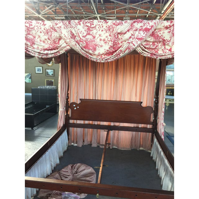 Leonard's Four Poster Bed King Size For Sale - Image 9 of 12