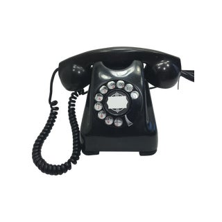Kellogg Red Bar Rotary Dial Telephone For Sale