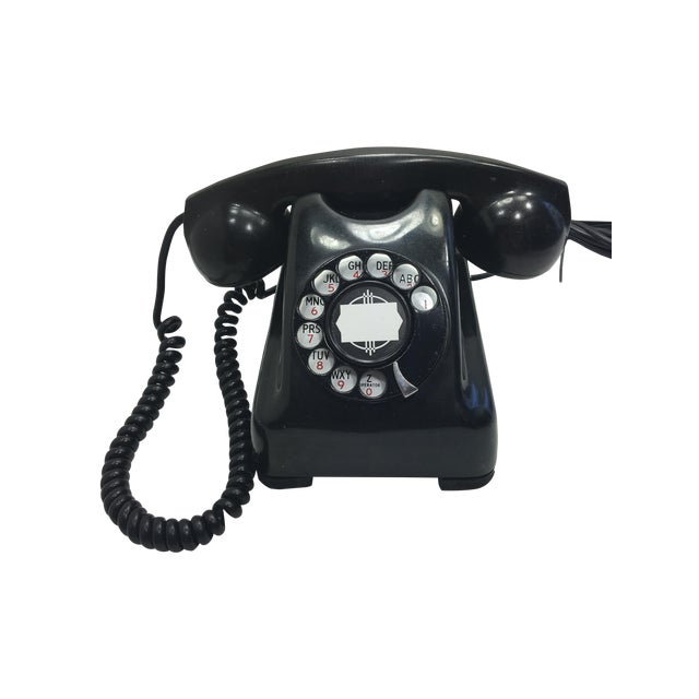 Kellogg Red Bar Rotary Dial Telephone - Image 1 of 11