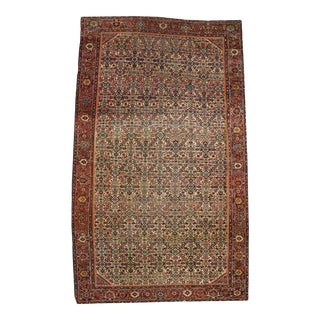 Late 19th Century Antique Persian Farahan Rug with Modern Style