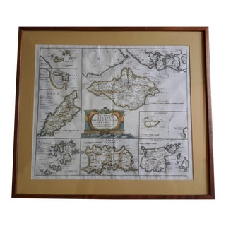 "Antique Map ""The Smaller Islands of Great Britain"" by Rob Morden For Sale"