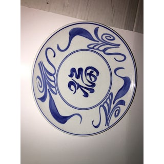 1970s Blue & White Chinese Bowl Decor Preview