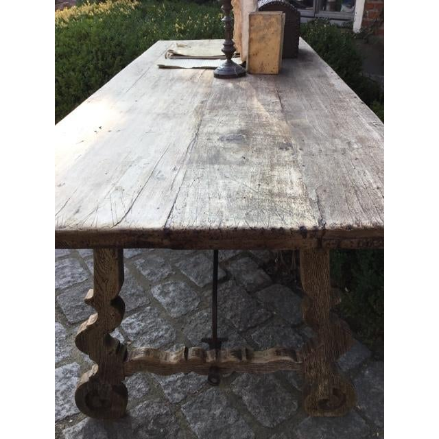 Spanish 19th C Spanish Fratina Table For Sale - Image 3 of 8