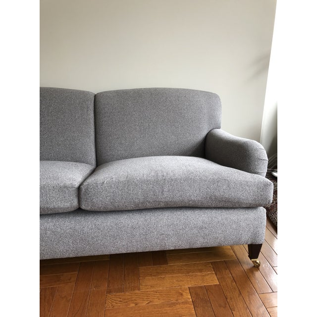 George Smith George Smith Standard Arm Signature Sofa For Sale - Image 4 of 6