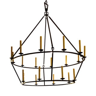 Circa Lighting Darlana Extra Large Chandelier For Sale