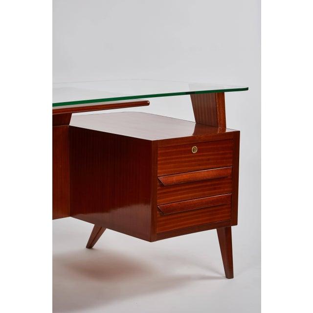 Wood Rare Carlo De Carli Desk For Sale - Image 7 of 11