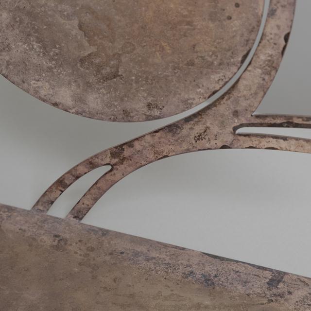 Karl Hagenauer Silvered Metal Karl Hagenauer Giraffe Table Sculpture, 1930s For Sale - Image 4 of 5