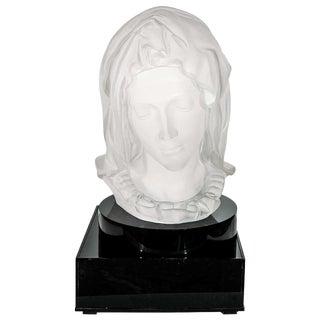 Madonna De La Pieta Acrylic Sculpture For Sale