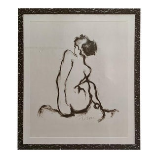 Figurative I Drawing by Francine Turk For Sale