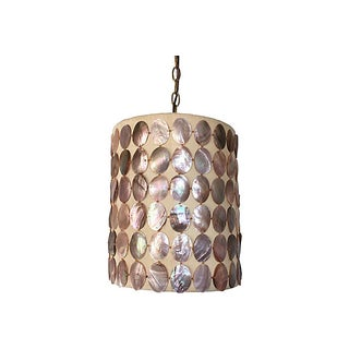 1960s Abalone Shell Pendant Light Preview