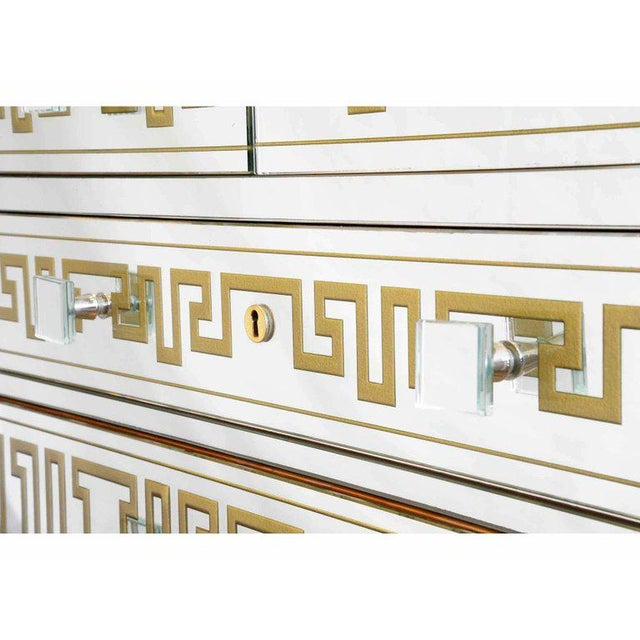 Roberto Giulio Rida, Mirror Cabinet, Mirror and Wood, Italy, Circa 1980 - Image 4 of 8