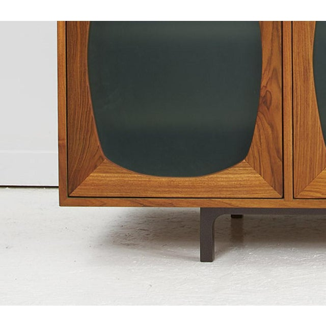 Contemporary Akmd Collection Teak Credenza For Sale - Image 3 of 5
