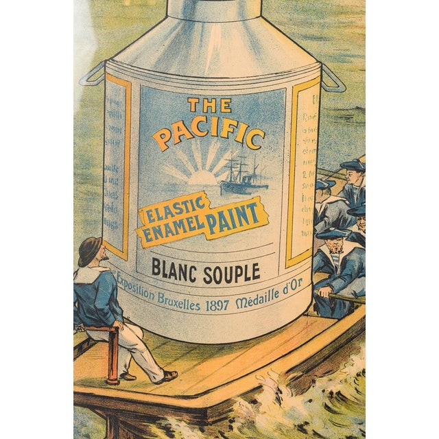 Traditional Le Pacific Enamel Paint French Poster - Image 5 of 10