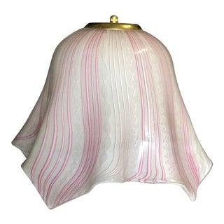 Vintage Murano Pendant Light For Sale