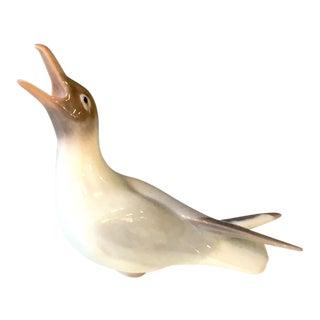 1970s Vintage Bing and Grondahl Porcelain Seagull Bird Figurine