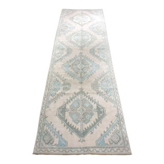 "Bellwether Rugs ""Juliya"" Turkish Oushak Runner Rug - 3′2″ × 9′11″ For Sale"