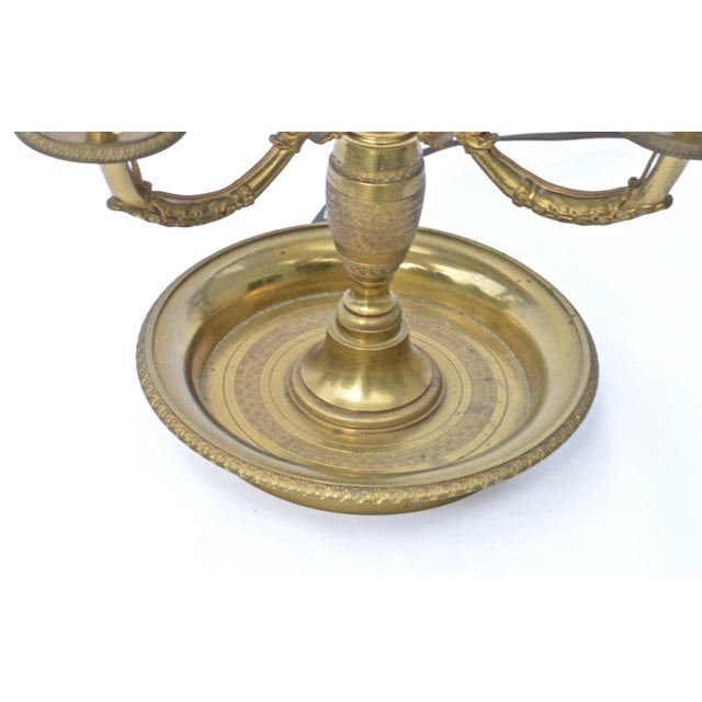 French Empire Bouillotte Lamp For Sale - Image 4 of 7