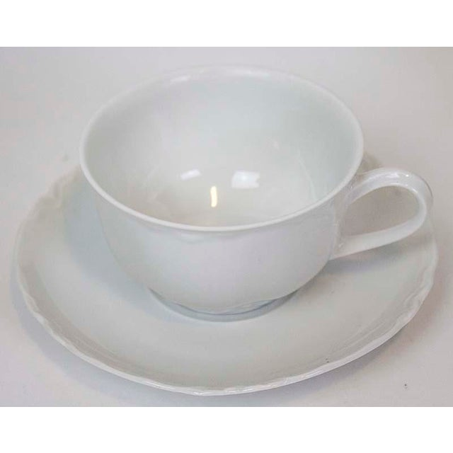 Contemporary Hutschenreuther Racine China Dinnerware - Service for 8 For Sale - Image 3 of 5