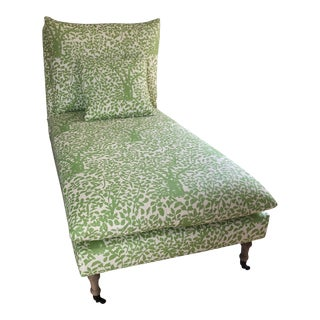Arbre De Matisse Fabric Classic Chaise For Sale