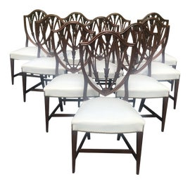 Image of Hepplewhite Dining Chairs