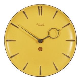 Midcentury Kienzle Ceramic Wall Clock For Sale